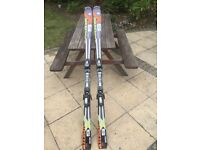Pair of Atomic Supercross skis 1.74m