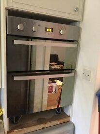 Hot point 2 year old double oven perfect working order