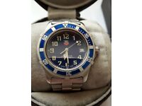 TAG HEUER WM1113 WITH BLUE FACE 2000 SPORT PROFESSIONAL WATCH