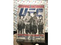 UFC 120 signed poster