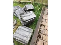 Roof tiles free!!