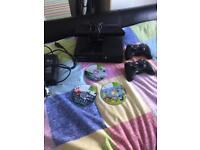 Xbox 360 wirh kinect