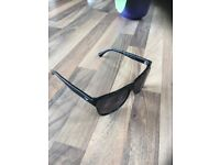 Original Emporio Armani Mens Wayfarer Style Sunglasses.