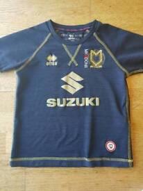 Mk Dons away shirt kids 4-6 years