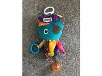 Lamaze captain calamari baby toy