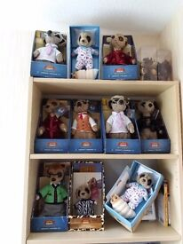Meerkat toys. 10 in total various ones, some duplicated.