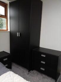 Bedroom furniture. Cupboard. Drawers. Bedside drawer