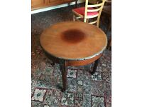 Vintage retro antique Victorian coffee record television tables £30