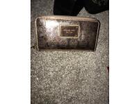 Michael Kors rose gold purse
