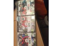 Fifa 10, 11 & 12 for PS3.