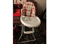 High Chair Immaculate Condition