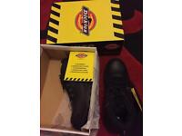 Mens Dickies Fury Steel Toe Cap Safety Boots Size 8