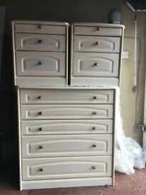 Chest of Drawers + 2 Bedside Tables