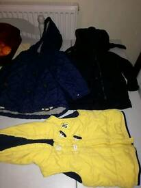 Boys coats 12 to 18 months