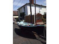 Barge dinghy