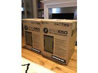 """Mackie SRM550 Pair - 1600W 12"""" High-Definition Powered Loudspeaker"""