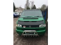 VW T4 THE ONE TO HAVE 2.5tdi 102bhp new clutch,dmflywheel slave cylinder all belts and water/oil pum