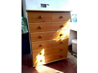 IKEA chest of 7 drawers - beech effect
