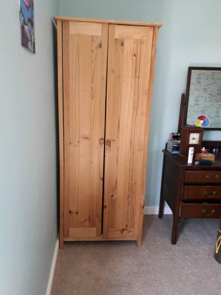 Pine Wardrobe In Swindon Wiltshire Gumtree