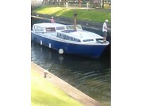 Norfolk Broads Boat, 40' x 12' and Mooring for sale