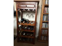Wine and glass rack by Ancient Mariner
