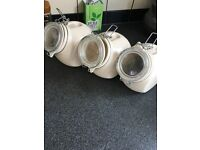 Nigella Lawson cream canisters