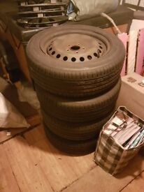 16inch steel wheels and tyres