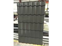 Tile Effect Roofing Sheets - Versatile 1100 - 0.7/0.5 metal tile effect sheets