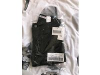 Black Perfect jeggings size 8 brand new from just fab
