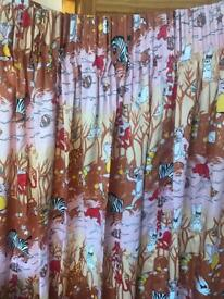 Pair of curtains for children room