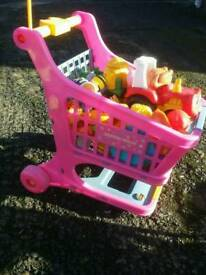 Children's toy trolley