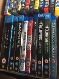 Job lot of DVD's and Blue-rays