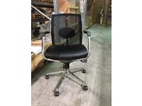 Executive Mesh Back Office Chair with Chrome Frame & Arm Rests