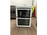 Zanussi electric cooker 60cm ceramic double oven 3 months warranty free local delivery!!!!