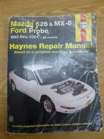 Haynes car repair manual Mazda 626 and MX6 / Ford Probe