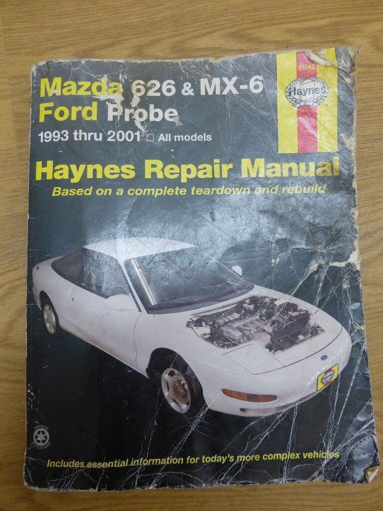 Haynes car repair manual Mazda 626 and MX6 / Ford Probe