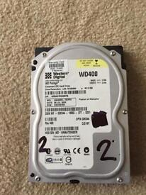 40GB western digital hard disk