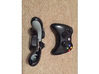 Xbox 360 with Kinect, controllers and games
