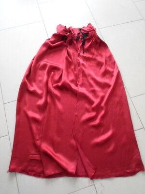 Umhang mit Kragen rot Teufel Halloween Kostüm Fasching - Roter Umhang Kostüme