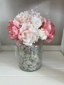 X 8 Bouquets Vases - Wedding Table Decorations