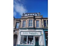 Fantastic two bedroom flat to rent in Lanark town centre