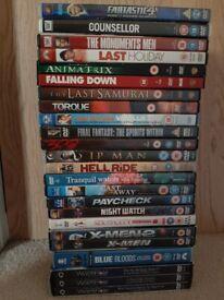 22x DVD Movies, Series, Documentary Bundle