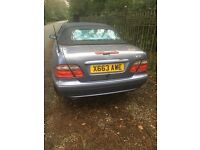 Mercedes benz clk 320 £999