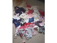 Baby girl bundle 0-6 months