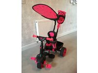 4-in-1 Duluxe Edition Trike. Neon Pink- Liitle Tikes