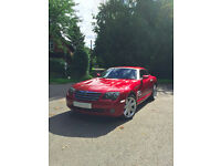 2004 Red Chrysler Crossfire 3.2 V6