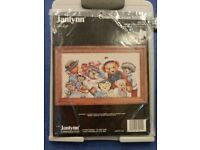 "New and unopened Janlynn counted Cross Stitch Kit ""Bear Collector"" no 89-51"