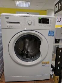New Graded Beko Washing Machine (9kg) (12 Month Warranty)