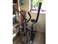 PRO FITNESS TRAINER - 2 in 1- EXERCISE BIKE - CARDIO FITNESS