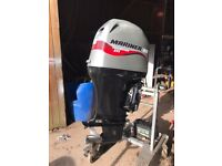 Used 80hp 4 stroke mariner EFI 2007 outboard boat engine